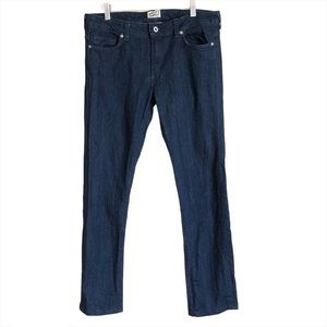 Naked and Famous The Straight cashmere denim